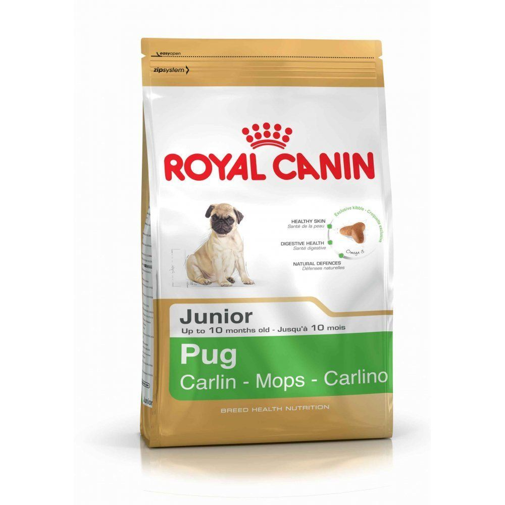 Royal Canin Pug Junior Pug Dog Puppy Dry Food 1 5kg Visit The Image Link More Details This Is An A Royal Canin Dog Food Dog Food Recipes Dog Food Online