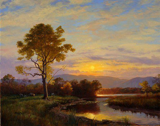 Shop Artists Network Oil Painting Landscape Landscape Paintings Sky Painting