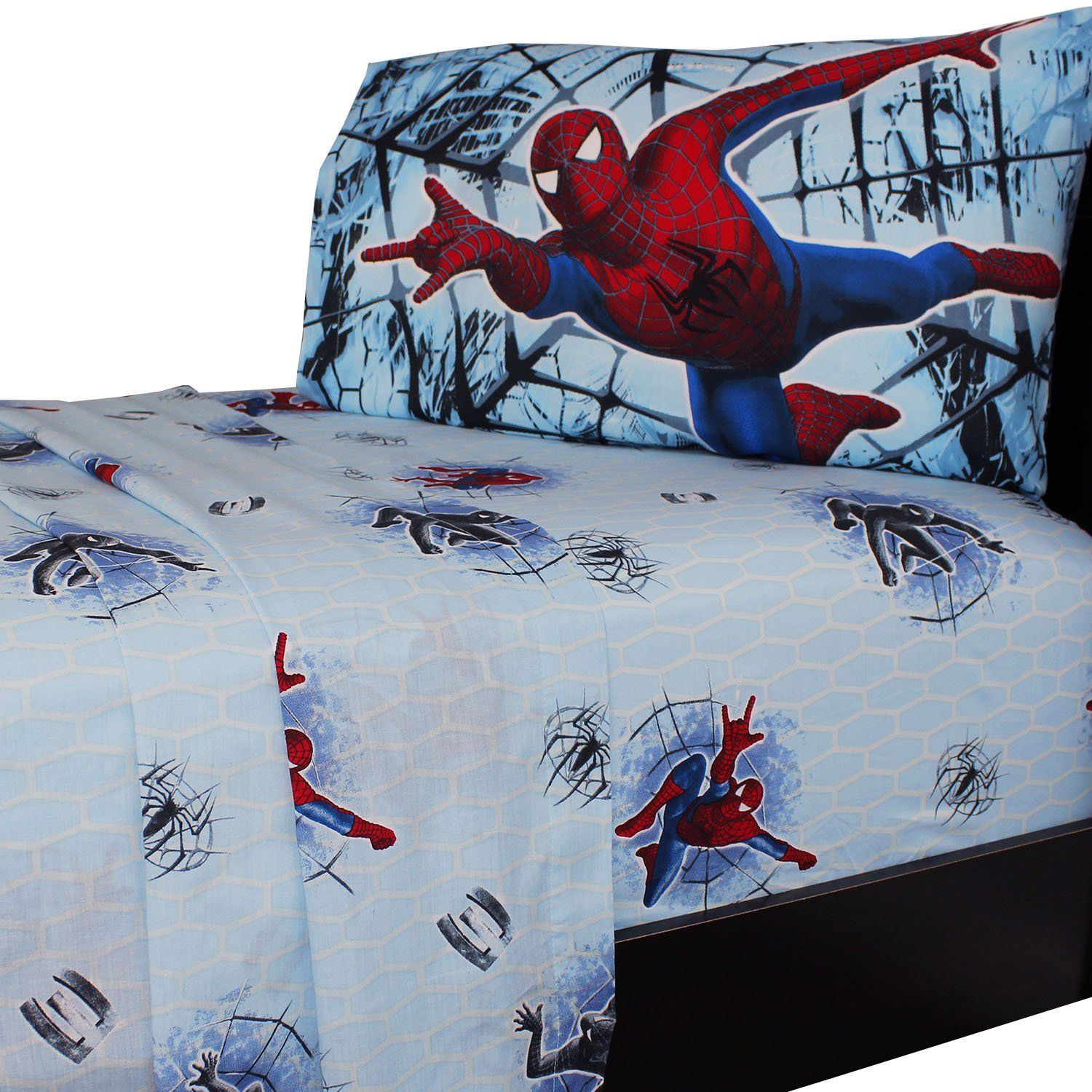 Spiderman Double Trouble Bed Sheet Set in 2019 Products