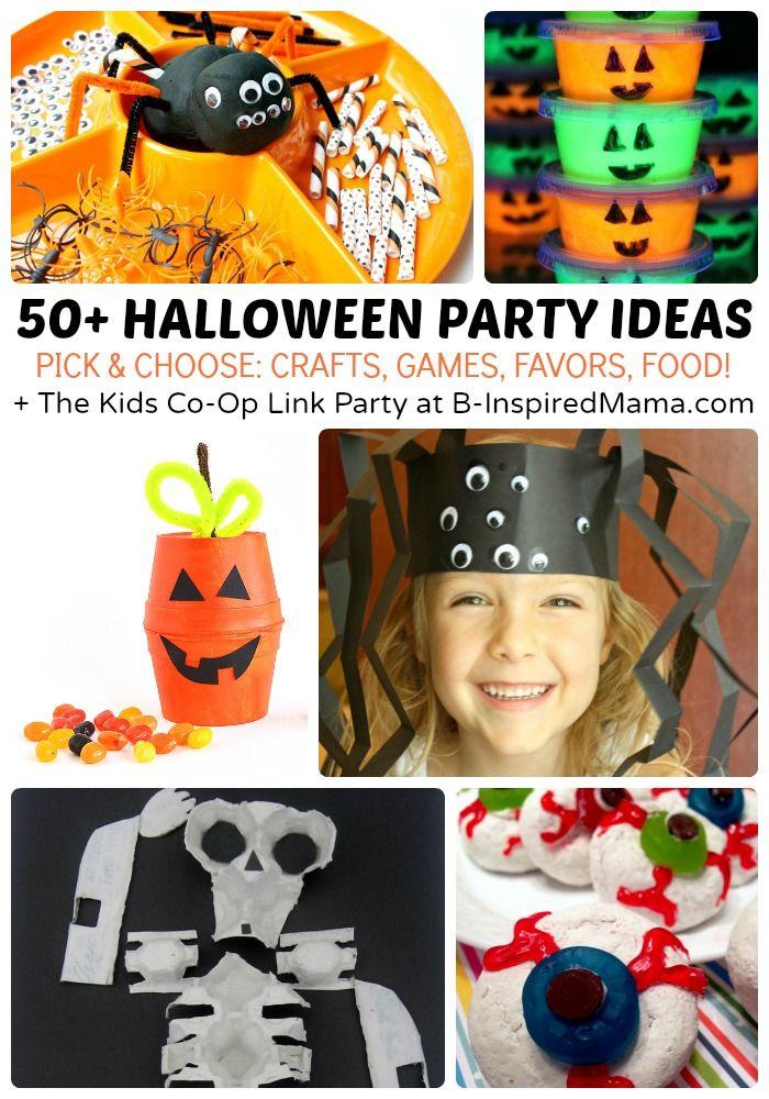 50+ Kids Halloween Party Ideas | Halloween parties, Craft ...