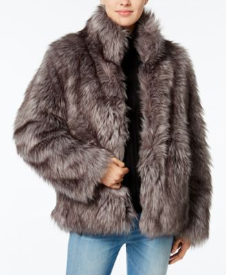 Wildflower Faux-Fur Coat, Only at Macyu0027s | macys.com