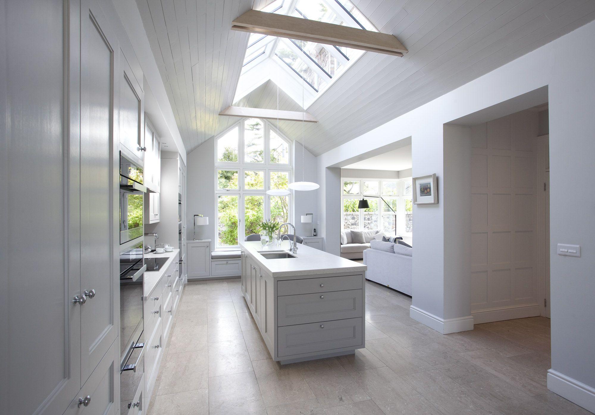 Mews Conversion Kitchen conversion, Classical interior