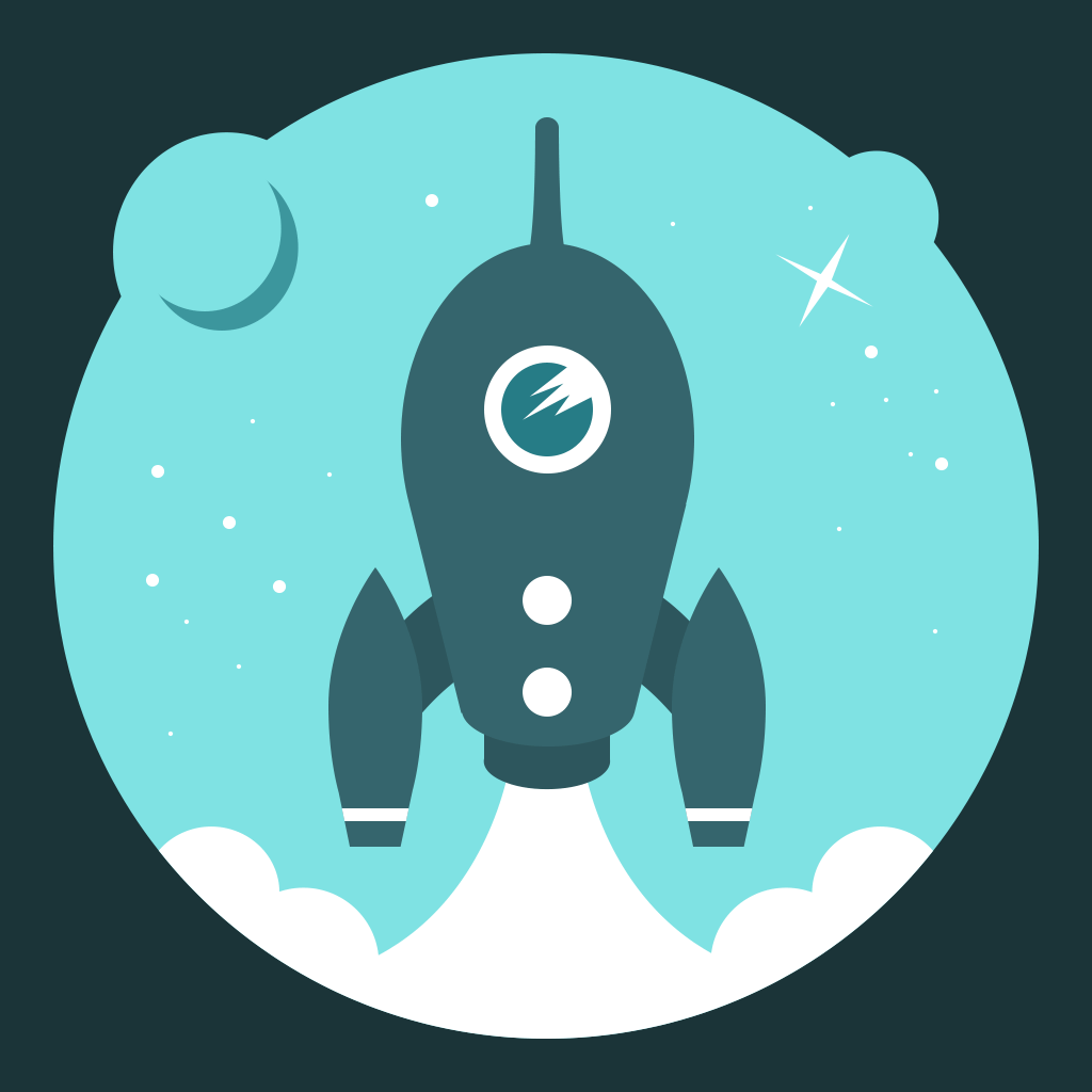 Let S Go Rocket Ultimate Endless Space Adventure App Icon Ios Icon Book Icons Android Icons