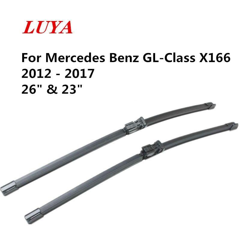 Luya Wiper Blade In Car Windshield Wiper For Mercedes Benz Gl Class X166 2012 2017 Size 26 23 Mercedes Benz Gl