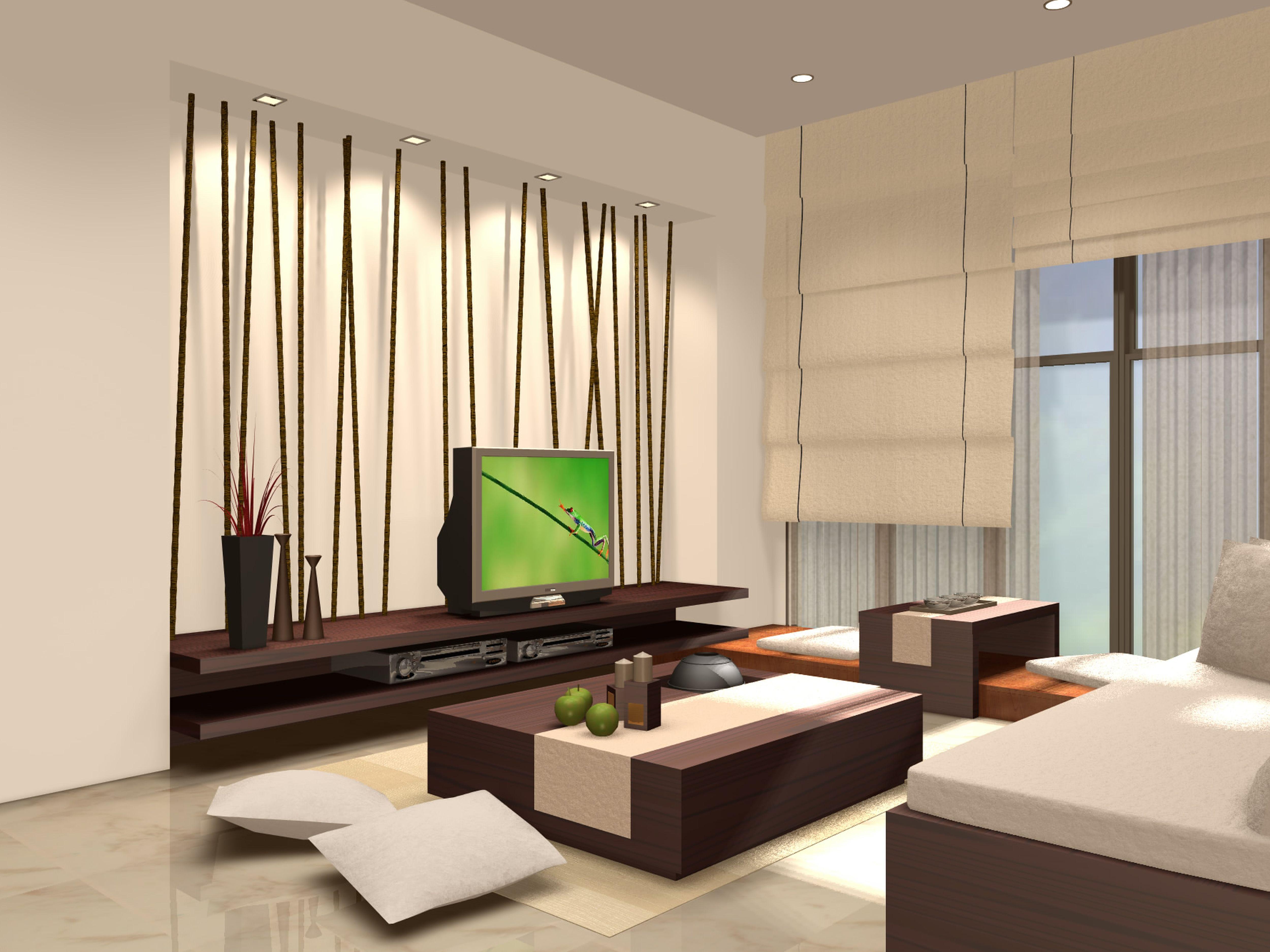 Modern zen interior design living room hotel pinterest room