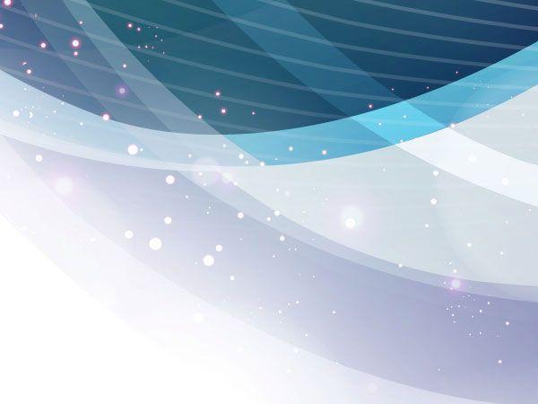Abstract Light Background Free Vector Hiasan Biru Bingkai