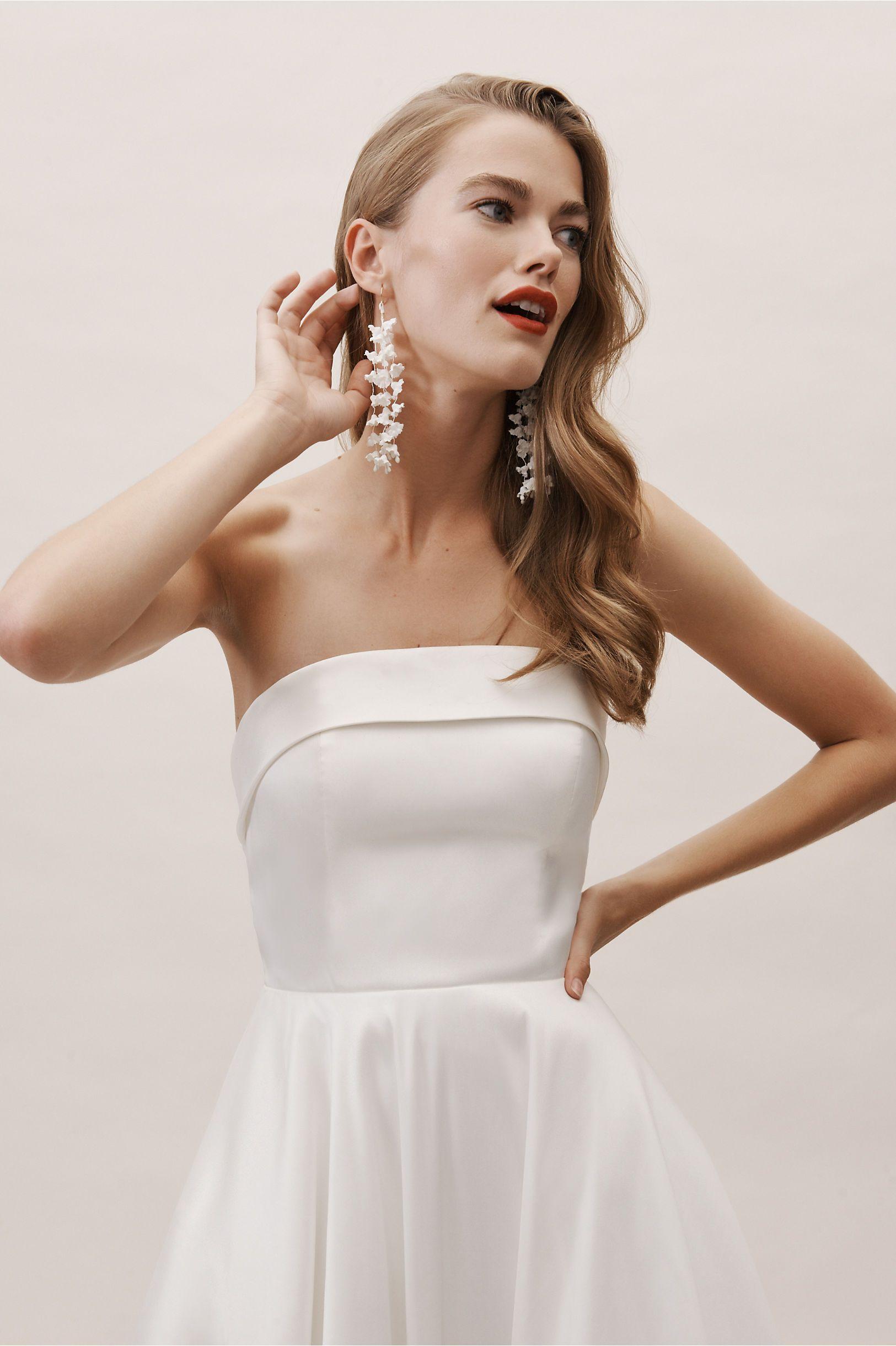Carrington Gown Ivory In Bride Bhldn Wedding Dresses Strapless