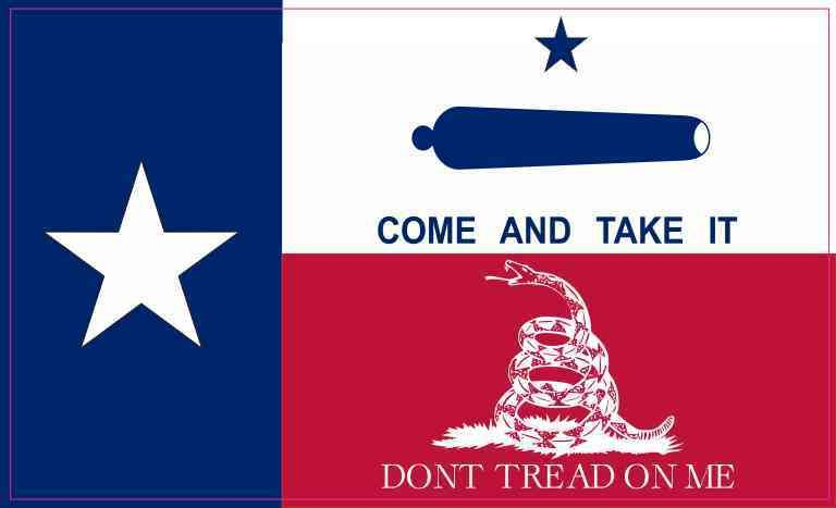 5in X 3in Gonzales Gadsden Texas Flag Magnet Texas Flags Texas Tattoos Texas Image
