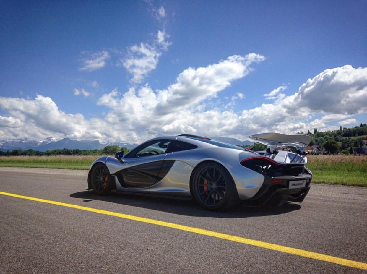 Exceptionnel McLaren P1 Painted In Supernova Silver Photo Taken By: @officialdfisher On  Instagram