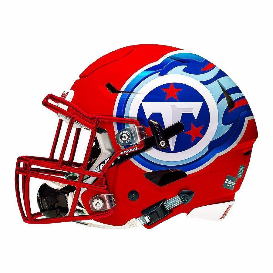 New Titans Helmet Color Poll Cool football helmets