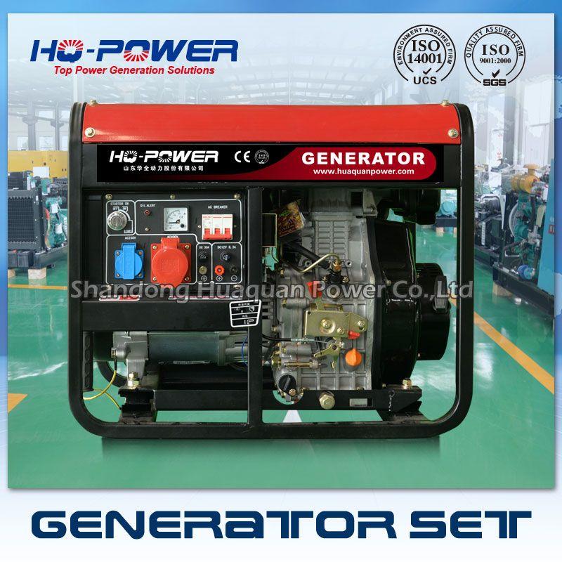 7kw Diesel Genset 7000w Mini Magnet Generator Prices In Pakistan