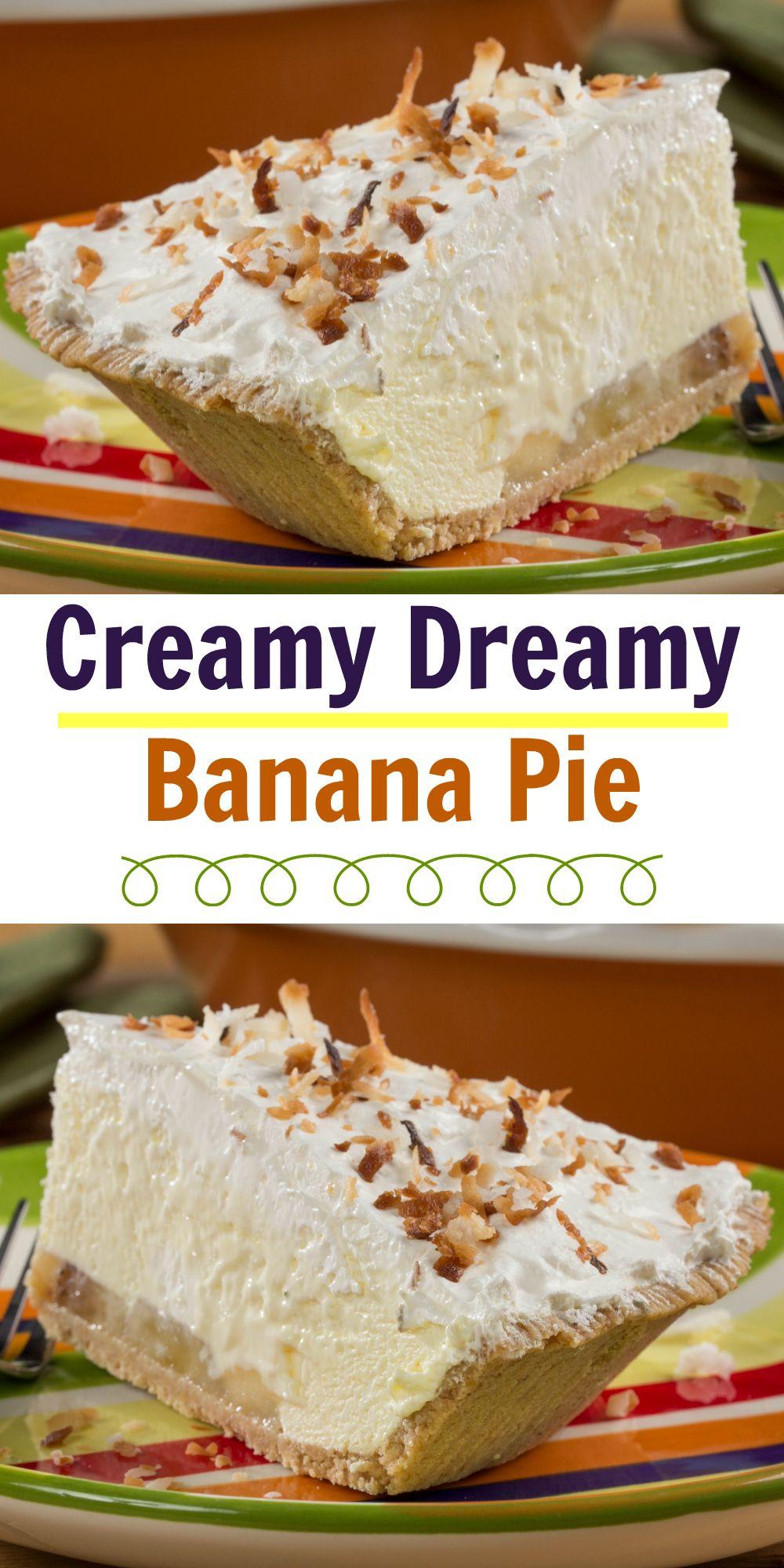 Creamy dreamy banana pie recipe diabetic friendly