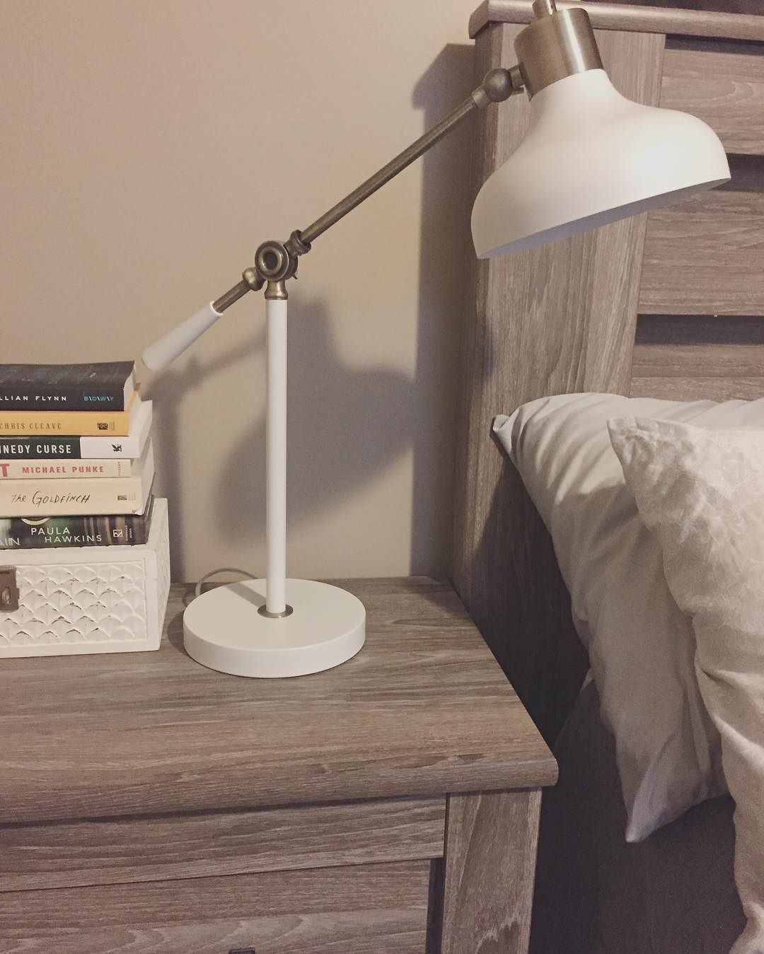 Crosby Schoolhouse Desk Lamp - White - Threshold | Pictures, Lamps ...