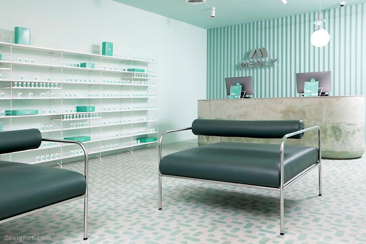 Sergio mannino studio designs medly pharmacy in brooklyn
