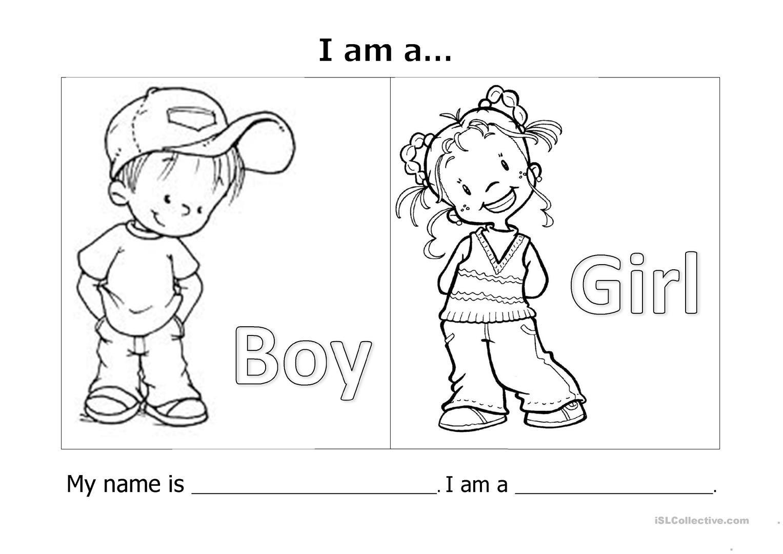 My Name Is I M A Worksheet