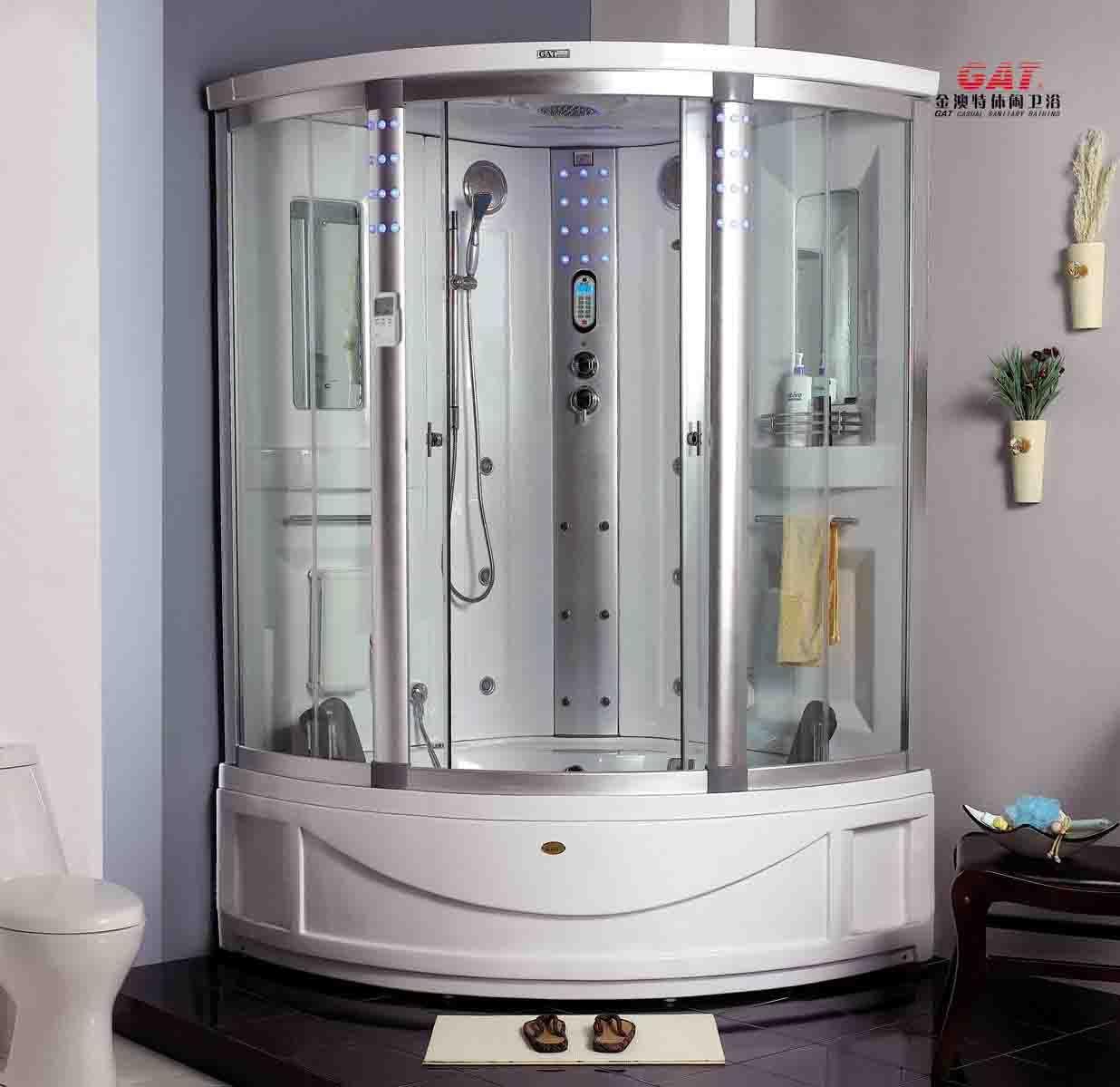Computerized Steaming Bathroom Bathroom Shower Jacuzzi Steam Room