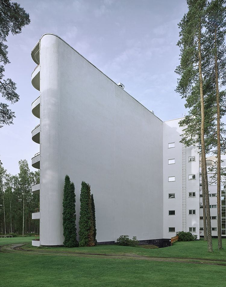 Alvar aalto sanatorium paimio 4 alvar aalto for Arquitectura moderna caracteristicas