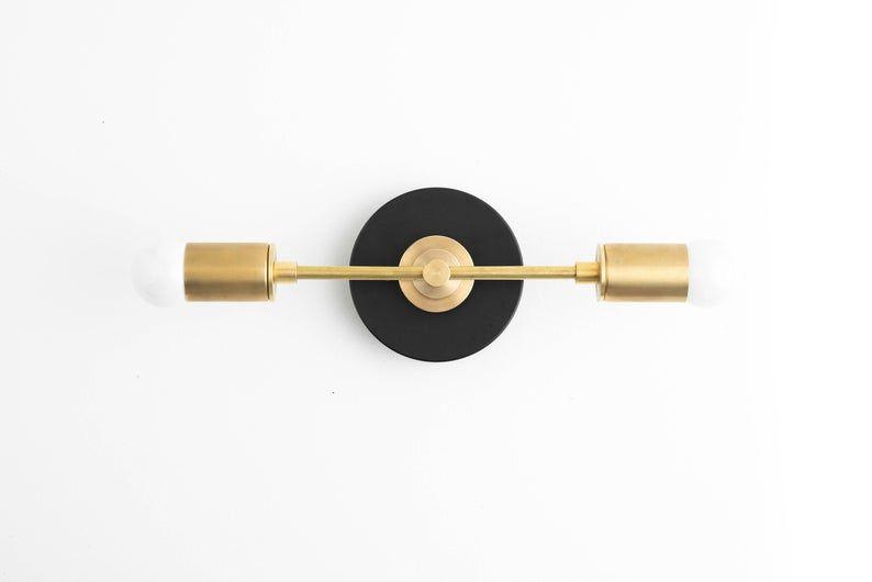 Photo of Gold wash basin light – brass bathroom light – wash basin light – wash basin light – bathroom light – raw brass – wall light – model no. 8057