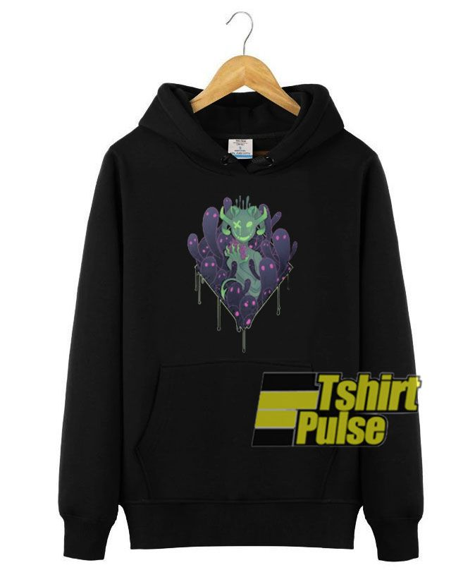 With A Heavy Heart Hooded Clothing Unisex Shirts