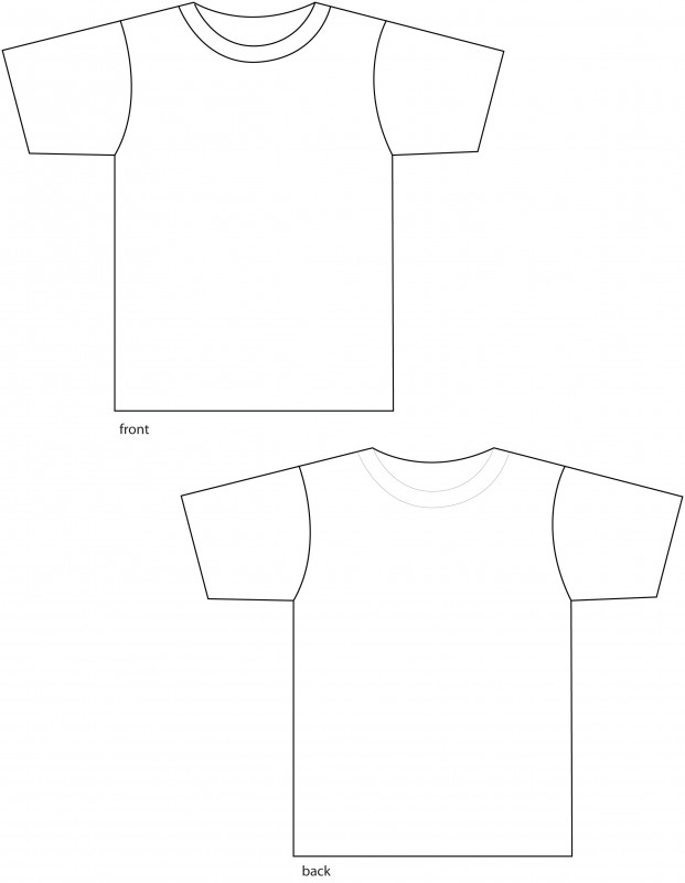 Download Blank T Shirt Outline Template Awesome Free Outline Of A T Shirt Template Download Free Clip Art Shirt Template Blank T Shirts Shirts