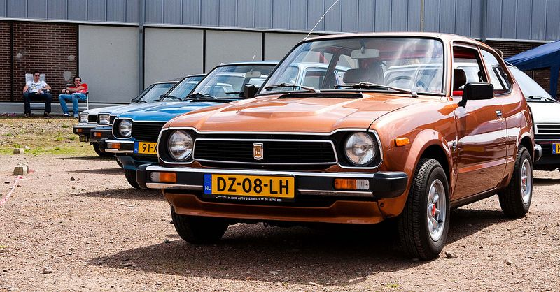 Honda Civic...I think these are so cute!