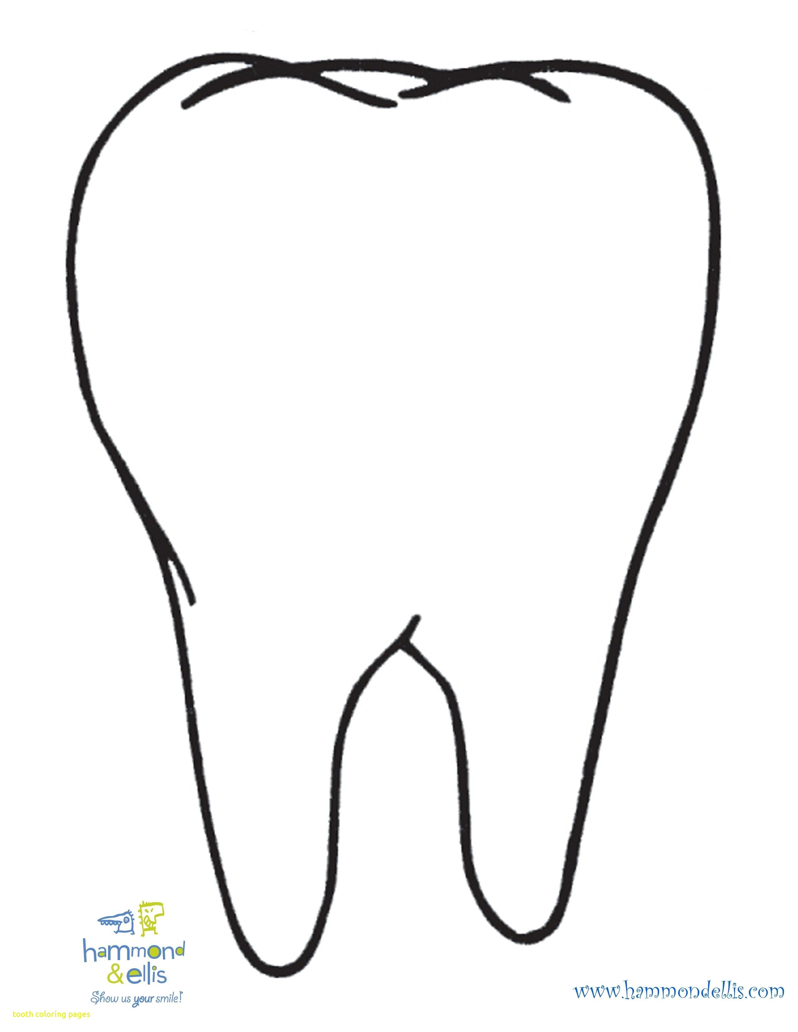 teeth coloring page # 0
