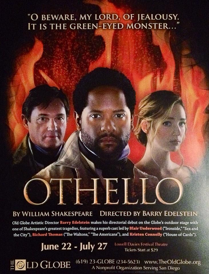"Blair Underwood takes to the stage in a new production of ""Othello"""