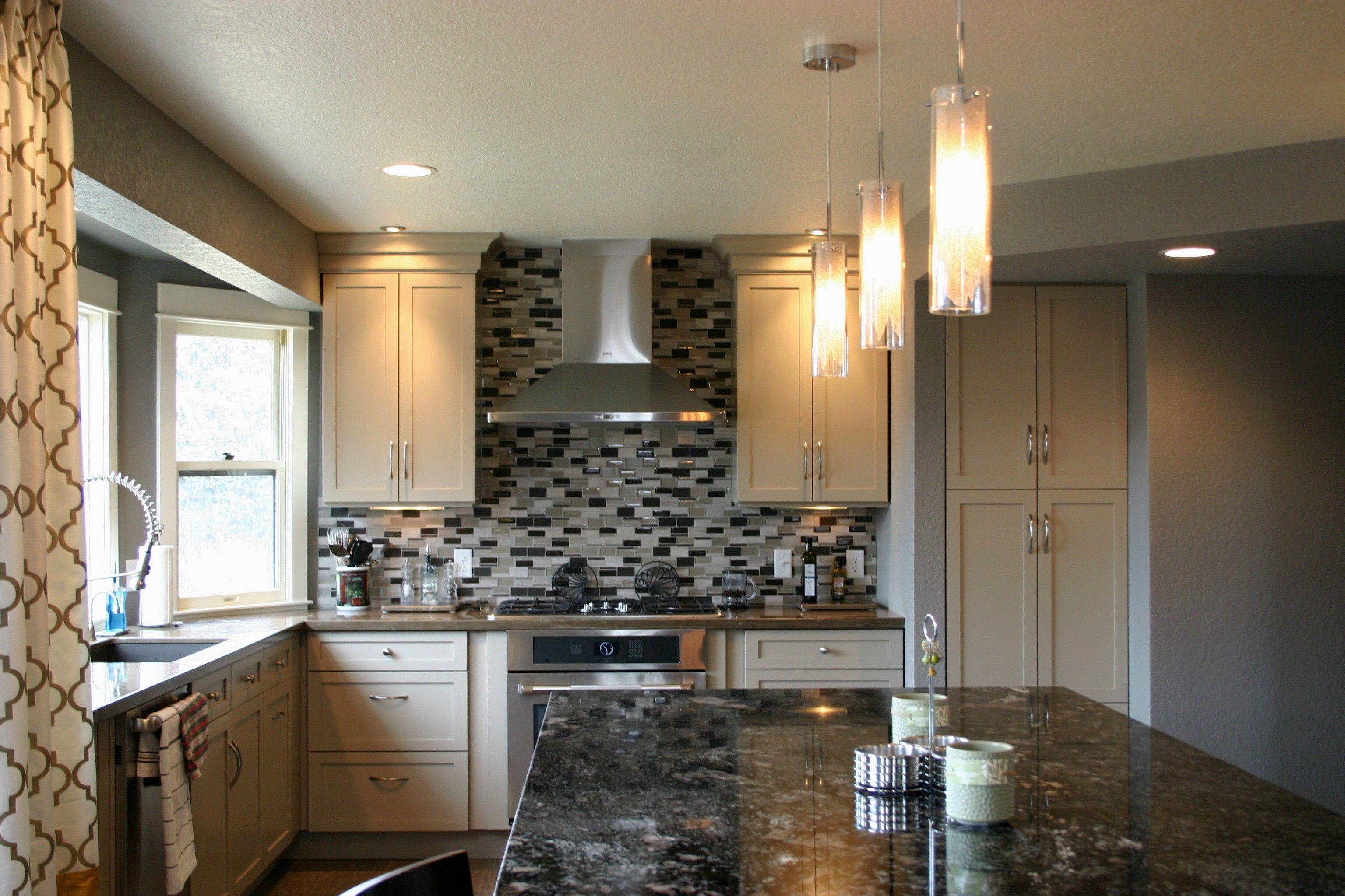 BKC Kitchen and Bath Denver kitchen remodel - Perimeter cabinetry ...