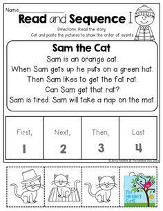 Sequencing Events in Stories Cards Super Duper Fun Deck Reading Comprehension