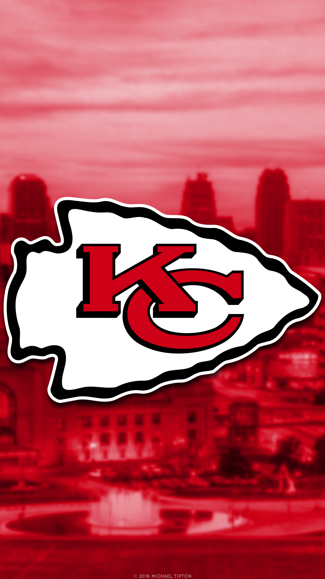 Nfl Kansas City Chiefs 2 Iphone 6 Wallpaper Kansas City Chiefs Chiefs Wallpaper Kansas City Chiefs Logo