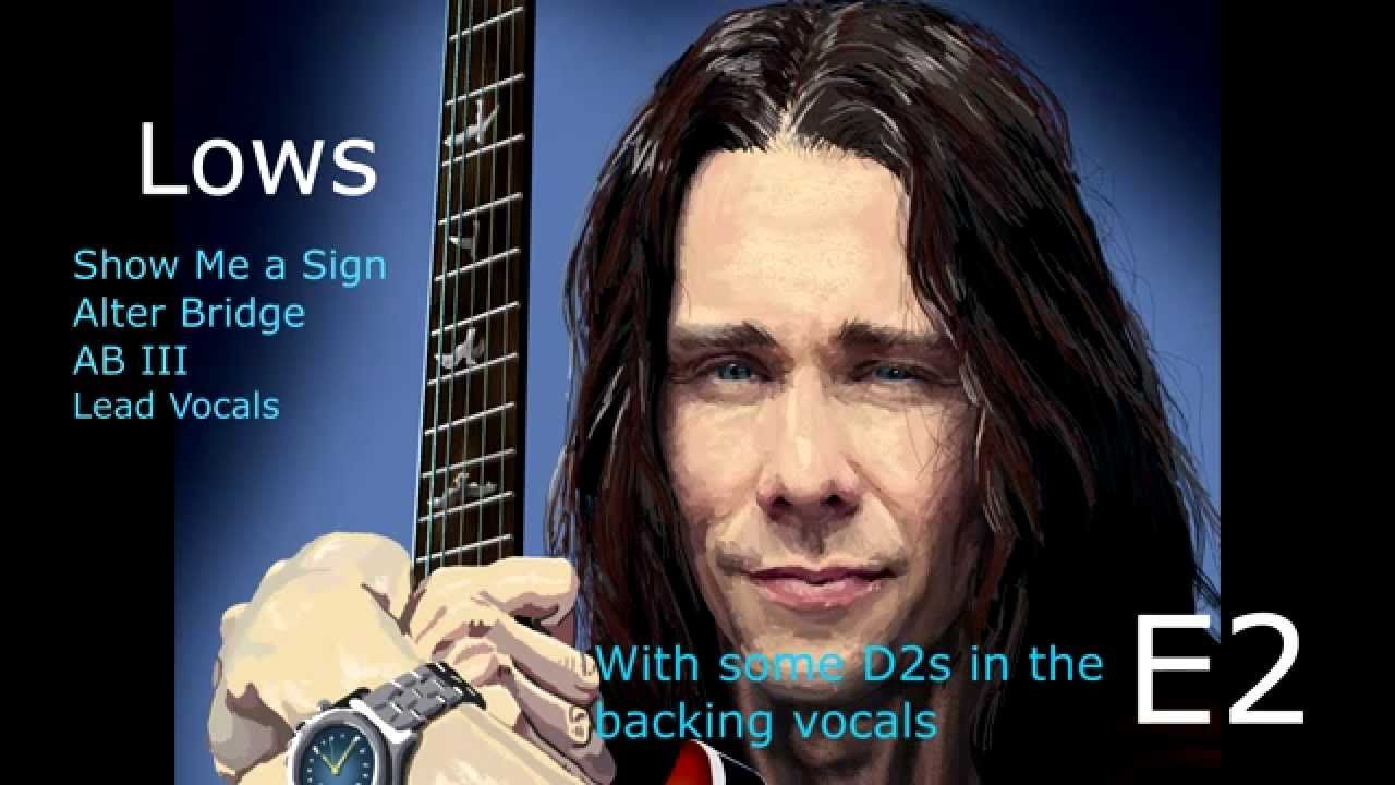 Myles Kennedy Vocal Range Bb1 D6 Com Imagens
