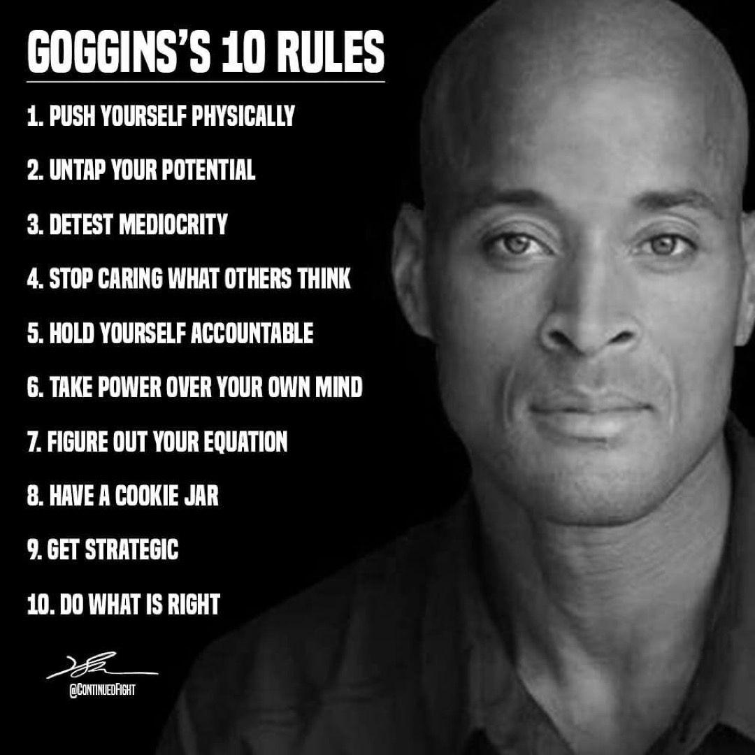David Goggins Rules Goggins Quotes Discipline Quotes David Goggins Quotes