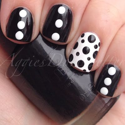 Black and White Dots by Aggies Do it better