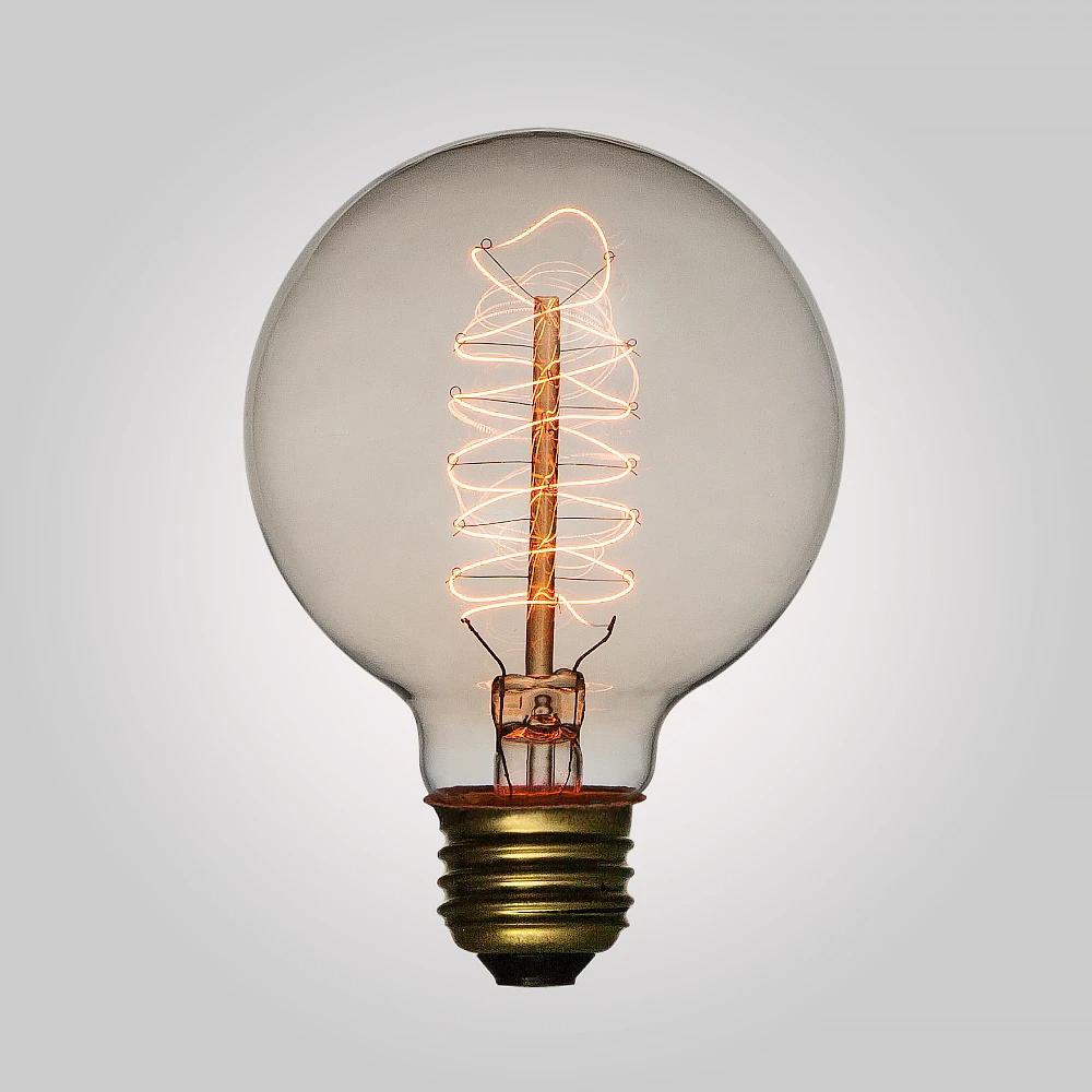 25 Watt Incandescent G80 Globe Vintage Edison Light Bulb Spiral Filament E26 Medium Base In 2020 Decorative Light Bulbs Edison Light Bulbs Lamp Socket