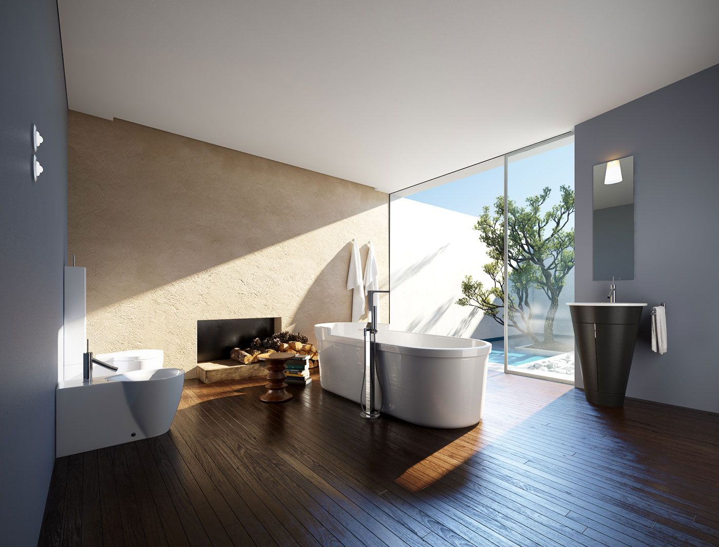 Archinteriors Vol. 39 Includes 10 Fully Textured Scenes Of Modern  Bathrooms. Every Scene Is Ready To Render With Professional Shaders And  Lighting.