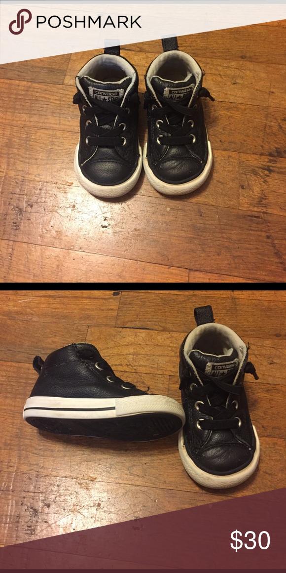 5dc679dee24 Converse Shoes Super cute black