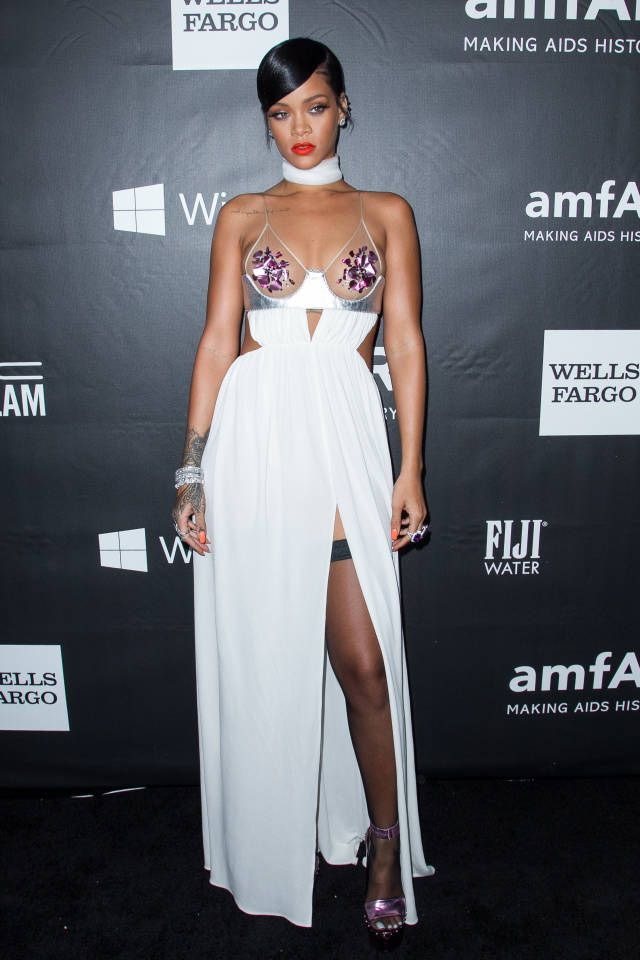 1f6f8bdc Rihanna Rocks Sultry Tom Ford at the amfAR Gala   Celebrity Style ...