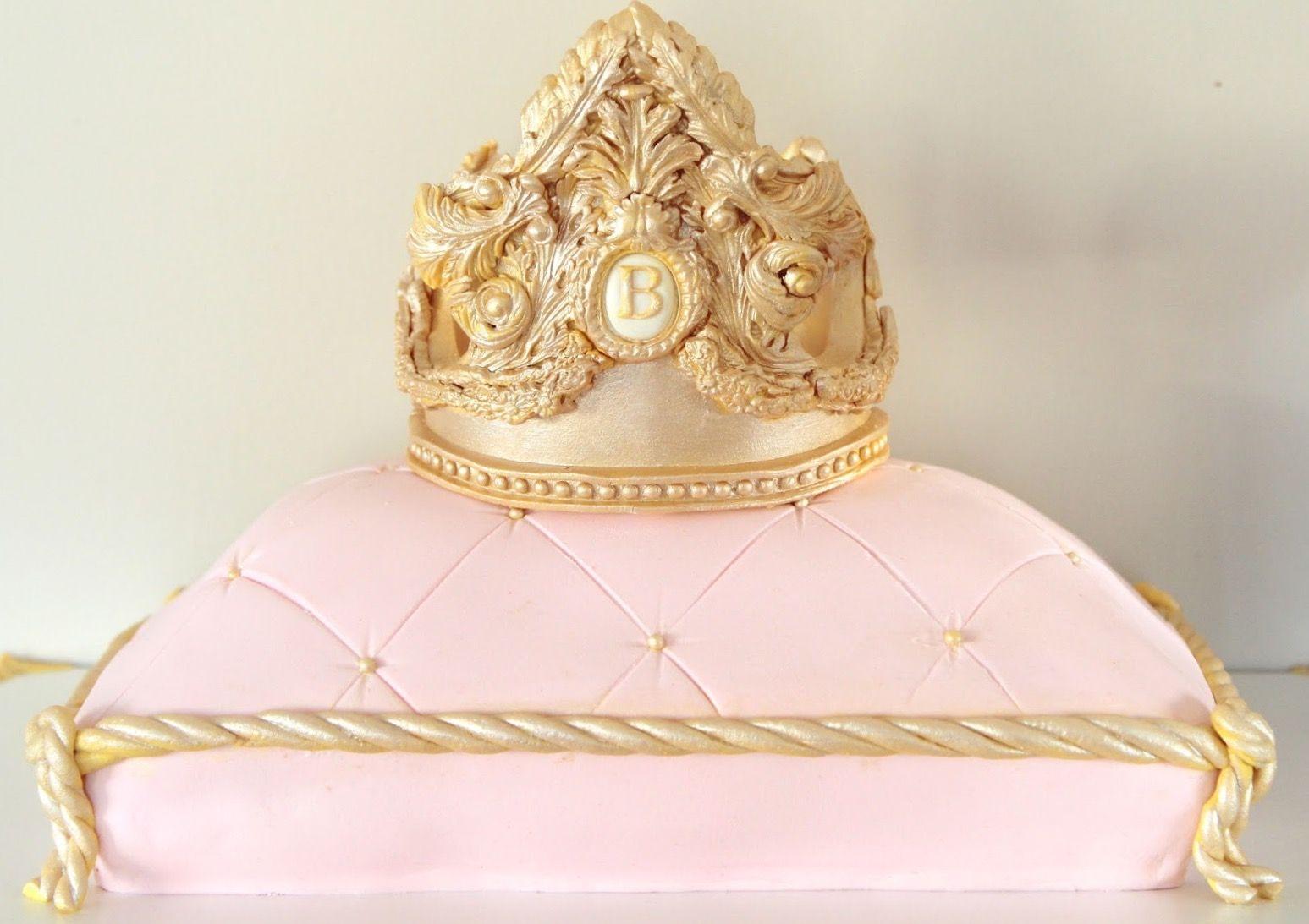 Mehndi Cake Quotes : Crown cake pillow duchess düşes pasta birthday