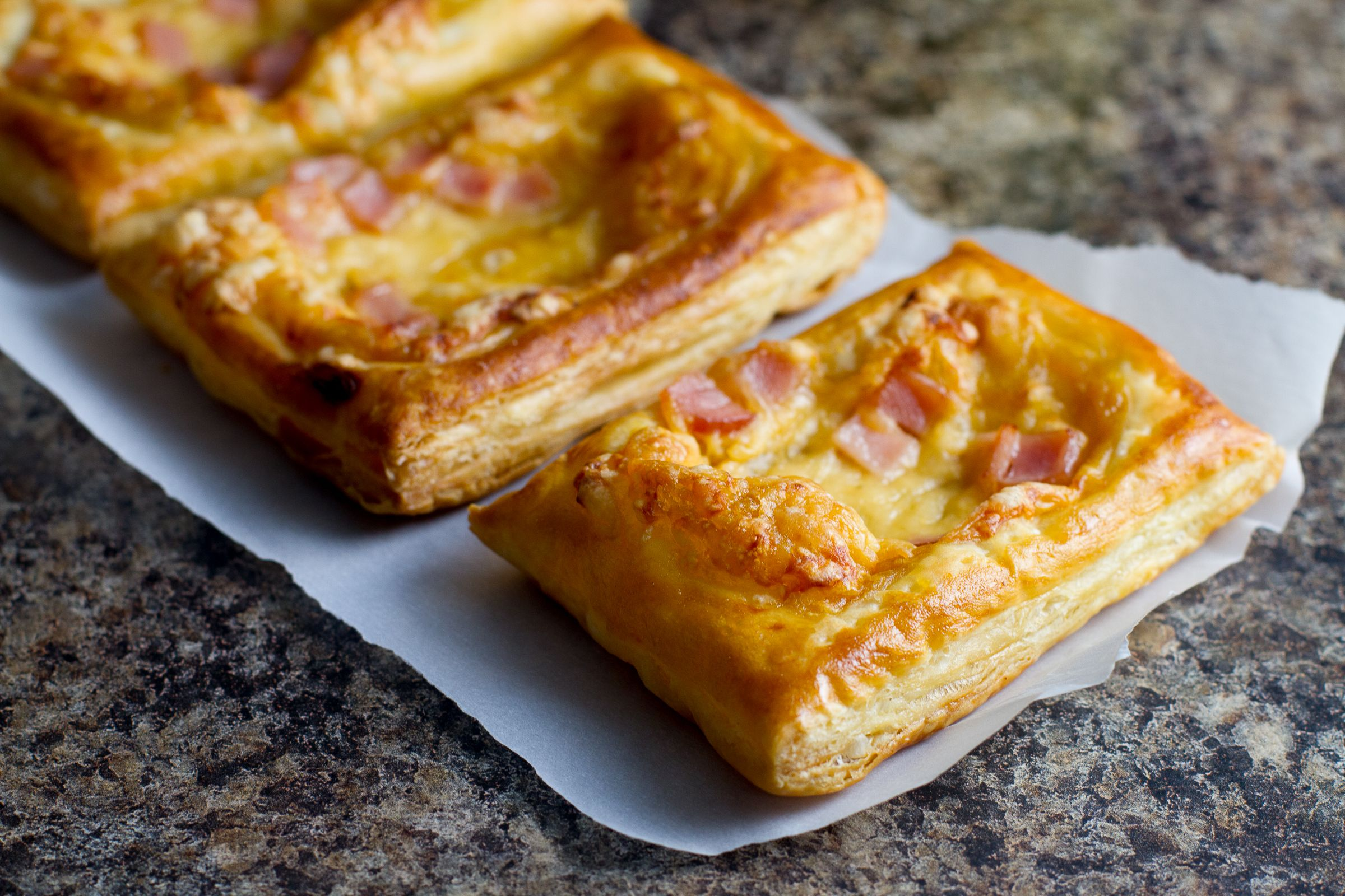 Canadian bacon and cheese savory tarts sponsored recipe