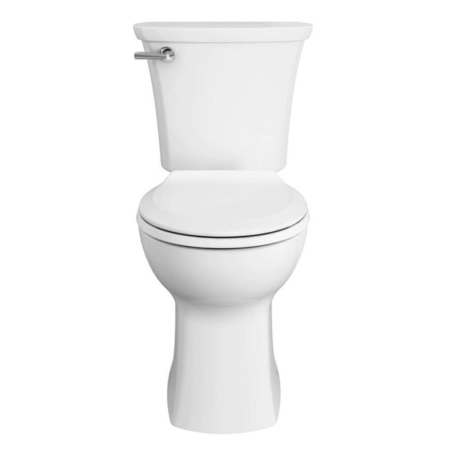 American Standard Edgemere White Watersense Round Chair Height 2