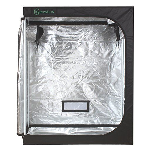 Growsun 48x24x60 Horticulture Grow Tent for Indoor Plant Growing Tents Mylar Hydroponic Grow Room Review   sc 1 st  Pinterest & Growsun 48x24x60 Horticulture Grow Tent for Indoor Plant Growing ...