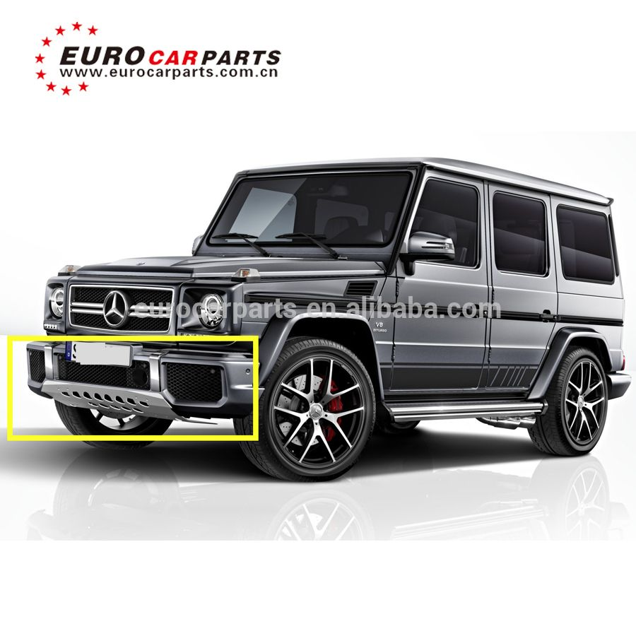 W463 G Class G63 Auto Front Bumper Guard Skid Plate G550 G63 G65 Underride Guard Edition 463 Front Skid Plate View G550 G63 G65 Stainless Steel Underride Gua