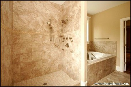 Master Showers Built For Two Photos And Ideas Showers And Big