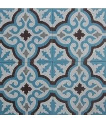 Marrakech tile - Voltaire Duvblå