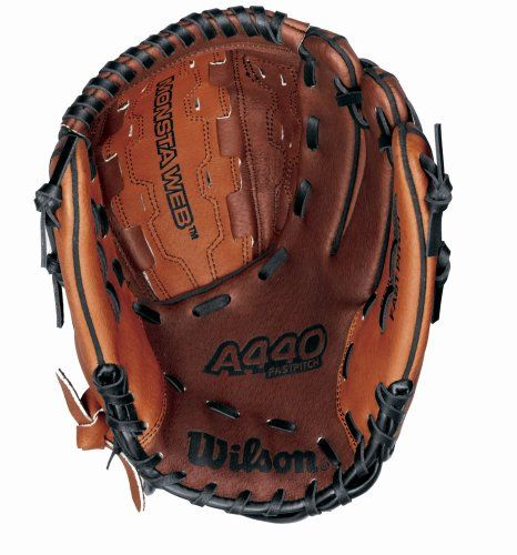 Searching Baseball Gloves Pictures Wilson A440 Series Fast Pitch Softball Glove 11 1 2 Inch Left Handed Throw Http Homerun Co Business Product Wilson A440