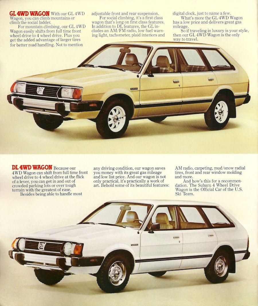 1983 subaru gl wagon