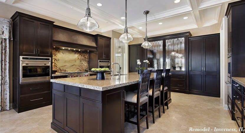 Superbe Kitchens | Abruzzo Kitchen And Bath   Custom Kitchens U0026 Bathrooms Dark Wood  Kitchen Cabinets,