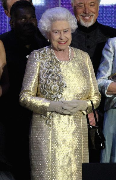 Queen Elizabeth at the Queen's Diamond Jubilee Concert