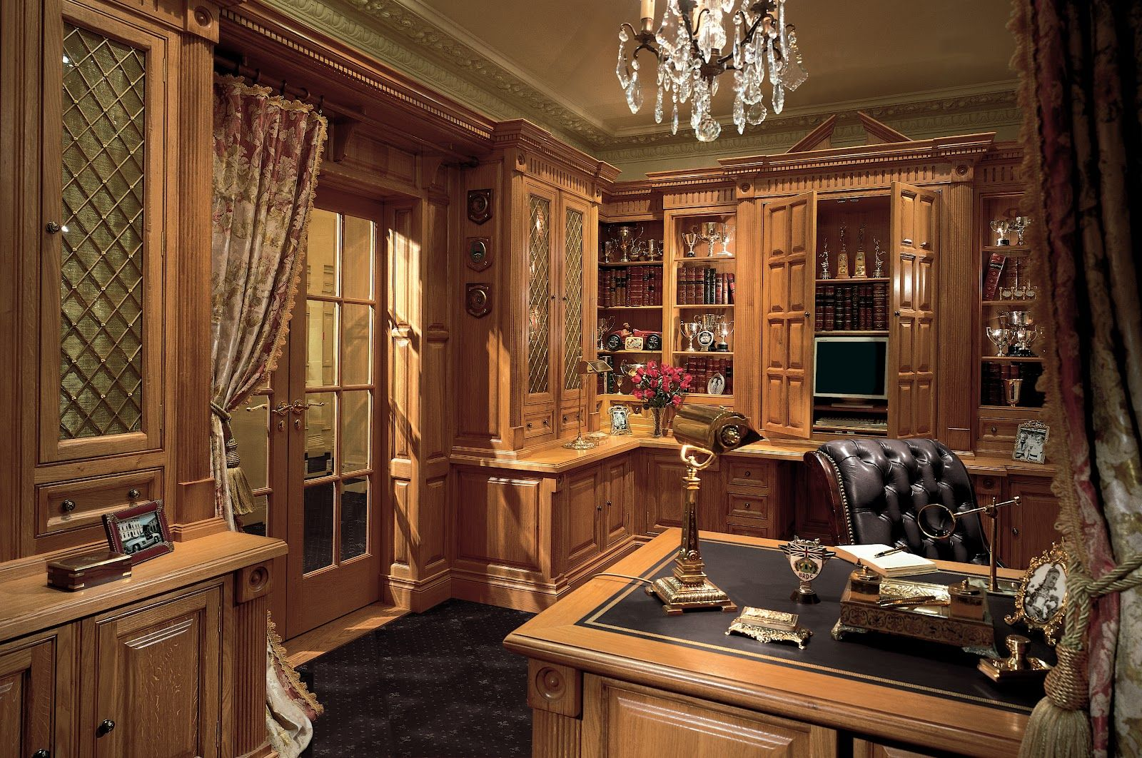 Victorian Study Room Luxury Home Office Furniture
