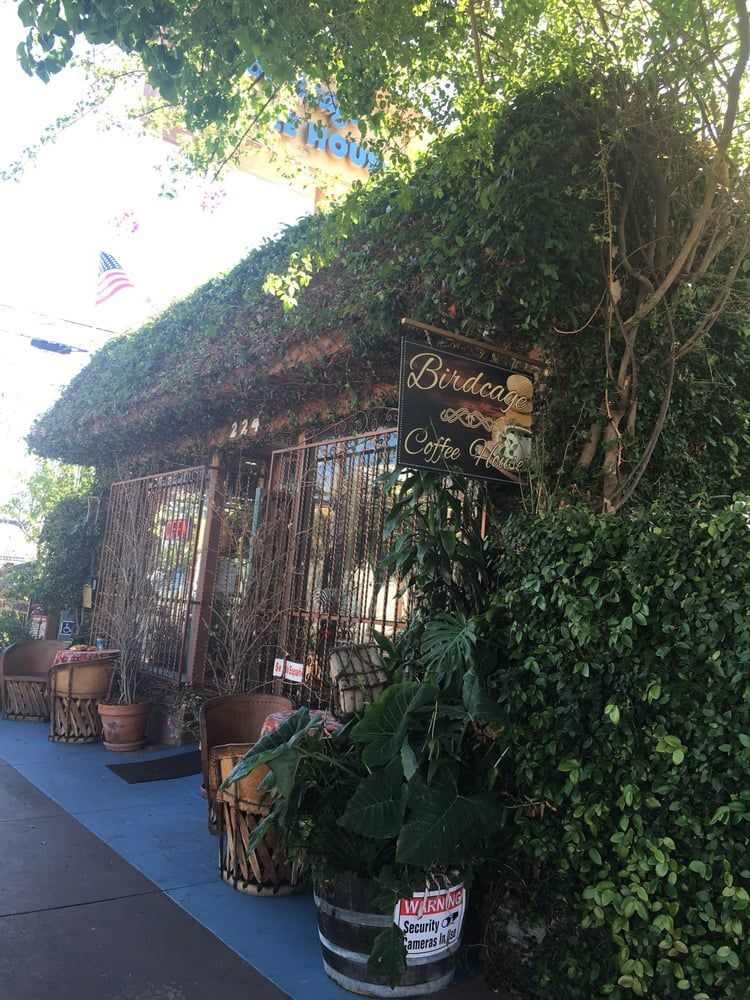 Birdcage coffee house long beach ca united states